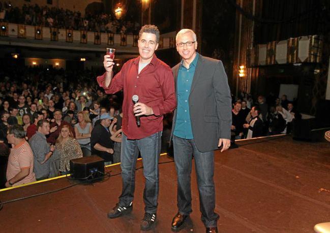 Comedian Adam Carolla Entertain and Track