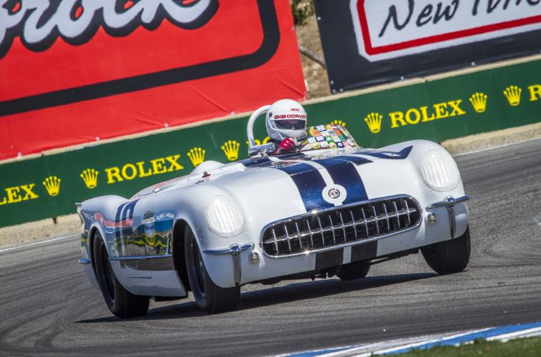 America's Iconic Corvette and Corvette Racings Tommy Milner Take Center Stage
