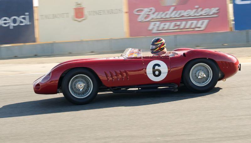 Ngài Stirling Moss Trở thành khách mời thứ bảy Rolex Monterey Motorsports Reunion