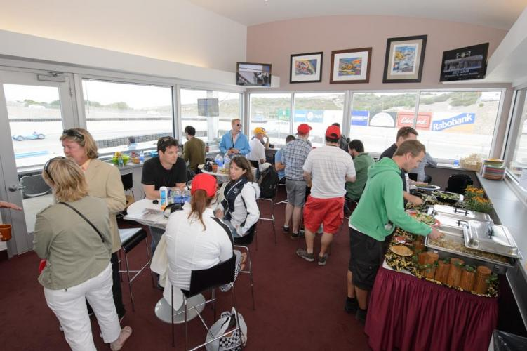 Hospitality Options For Rolex Monterey Motorsports Reunion